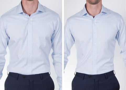 Dress Shirt Fit Chest