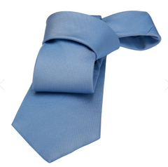 Light Blue Silk Tie Seaside Wedding