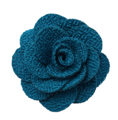 Turquoise Lapel Flower Seaside Wedding