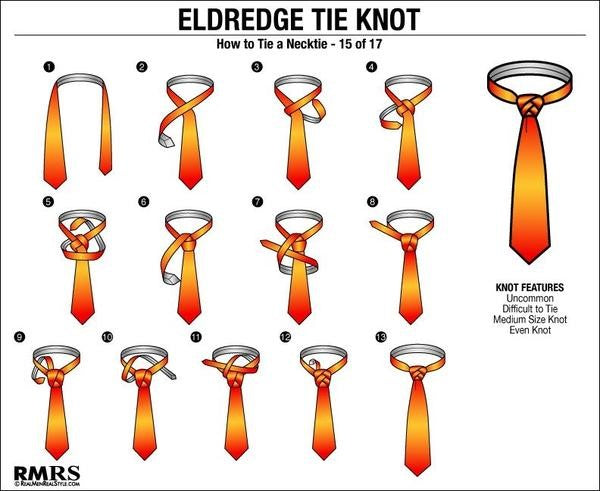 How To Tie The Eldredge Knot