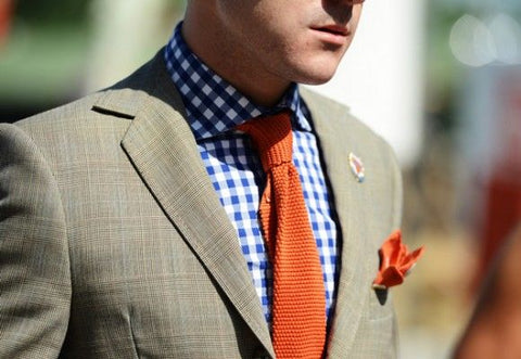How to Match Your Tie to a Checkered Shirt