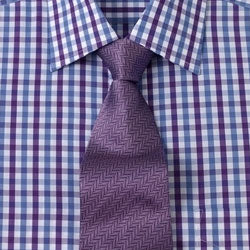 Ties to Match a Checkered Shirt