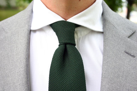 Grenadine Tie Four In Hand Knot