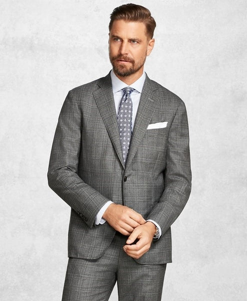 Medium Grey Suit, Shirt & Tie