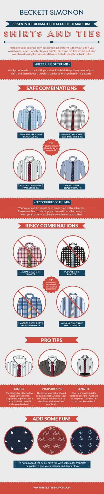 How to Match Shirts and Ties