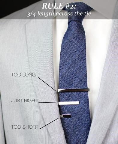 How To Wear Jewelry Tie Bar