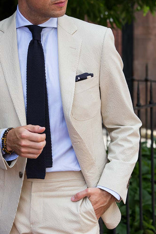 Knitted Tie Summer