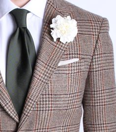 Carnation lapel flowers