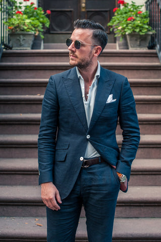 Unstructured Suits & Shirts