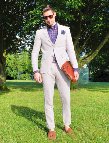 Summer Suit w/ Loafers