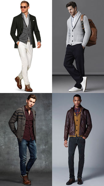 Men's Layering Thin To Thicker Garments