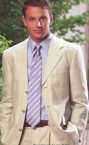 How to wear a Linen Suit – The Dark Knot