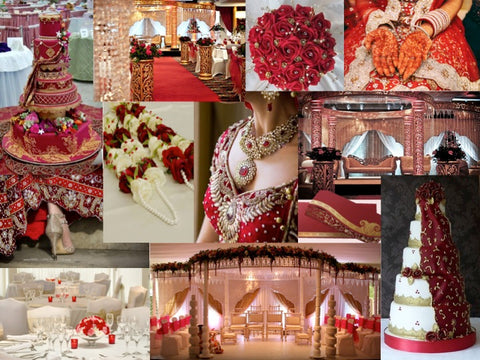 Marsala Color Scheme Wedding