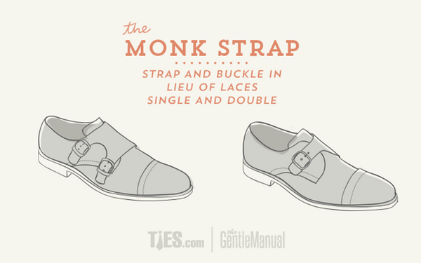 Monk Strap Shoes Infographic