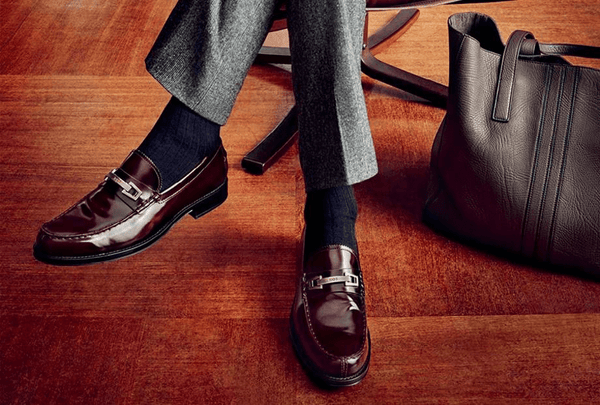 Oxblood Bit Loafers