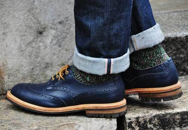 Chunky Brogues Men's Winter Style