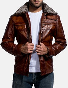 Men's Winter Clothing Leather Jackets