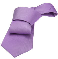Lilac Silk Tie Wedding