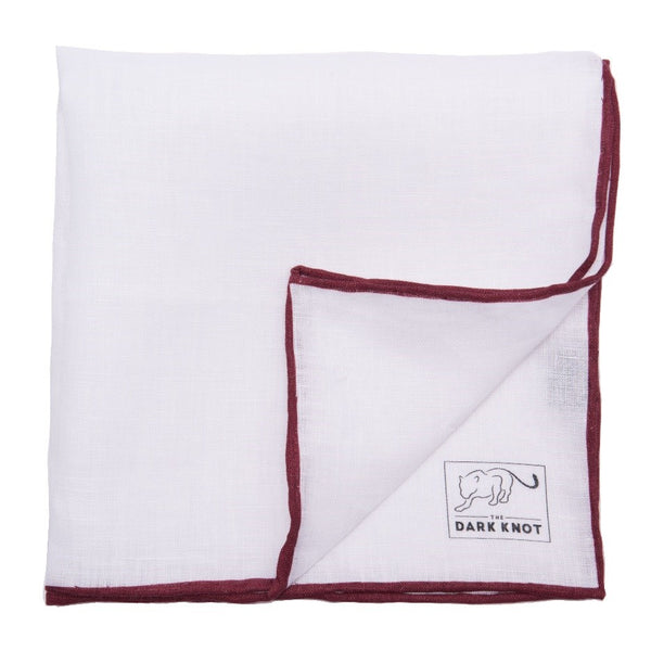 White Pocket Square Men's Minimal Wardrobe