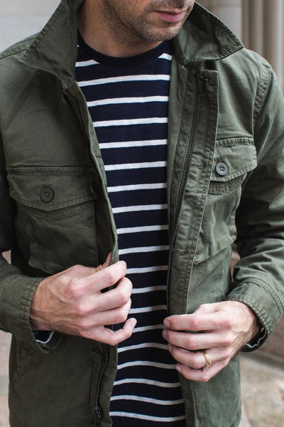 Breton Shirt Men's Minimal Wardrobe