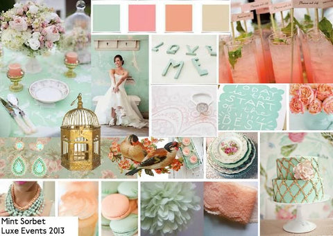 Mint Sorbet Wedding