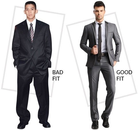 Badly Fitted Suits