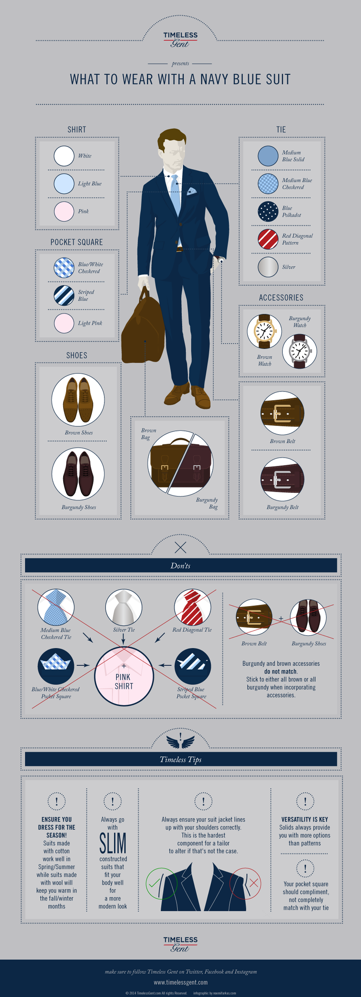 How to Wear a Navy Suit Style Chart