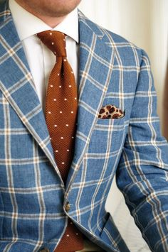 Printed Tie and Pocket Square Combination