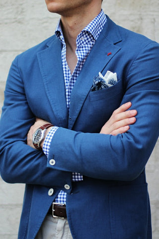 Casual Jacket Pocket Square