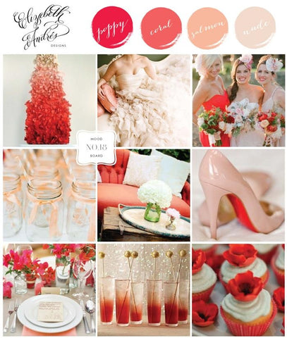 Poppy & Coral Wedding