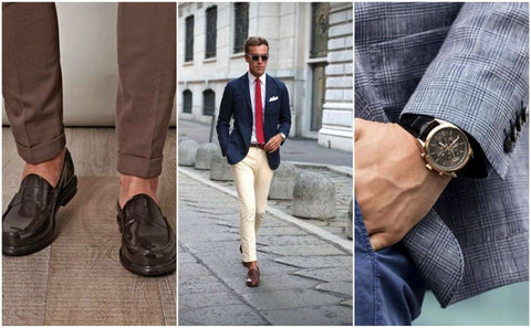 Chinos Preppy Men's Style