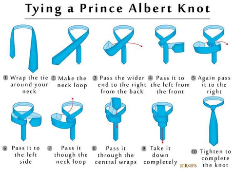 How To Tie A Prince Albert Knot