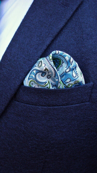Puff Pocket Square Fold