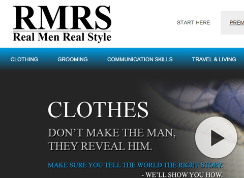 Real Men Real Style blog