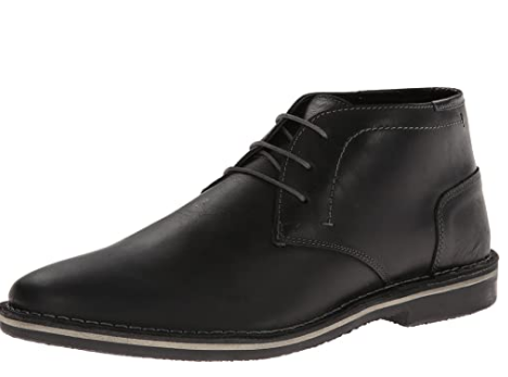Steve Madden's Harken Chukka Boot in Black