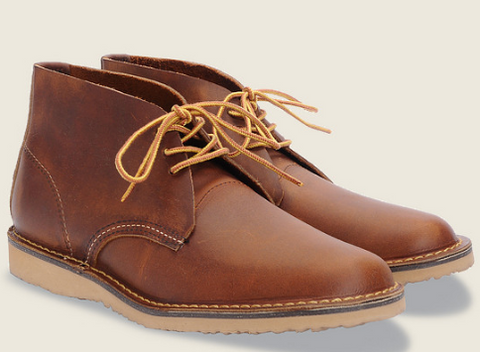 Red Wing's Weekender Chukka Boot in Copper