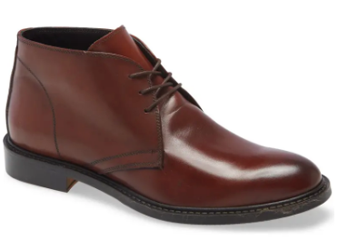 To Boot New York's Brown Leather Chukka Boot