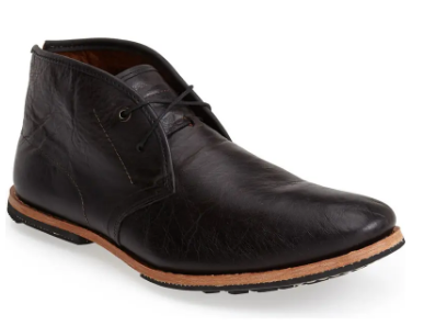 Timberland's Wodehouse Chukka Boot in Black
