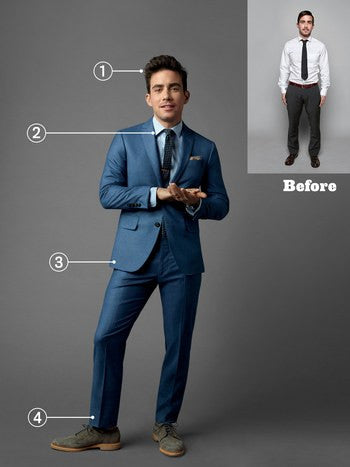 Shorter Men Suits