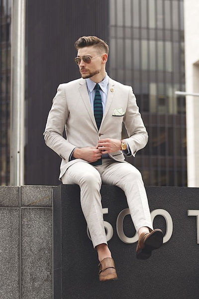 Tailored Suits Thin Men