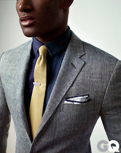 Thin Men Textured Suits