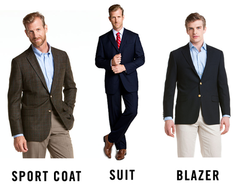 Sports Jacket vs Suit vs Blazer