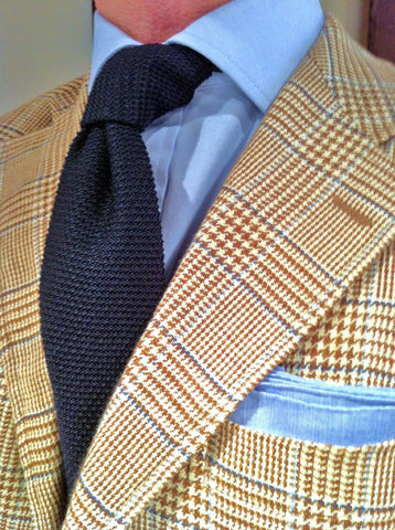 Sports Jacket Knit Tie