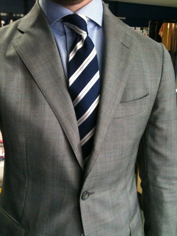 Striped Tie Formal Wear
