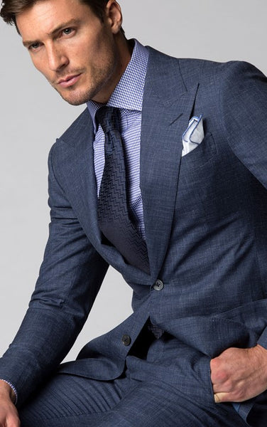 Summer Wedding Chambray Suits