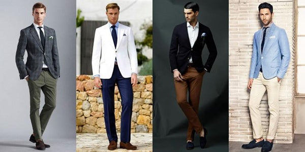 Summer Wedding Men's Seperates