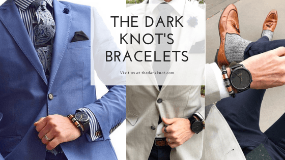 Leather & Beaded Bracelets from The Dark Knot