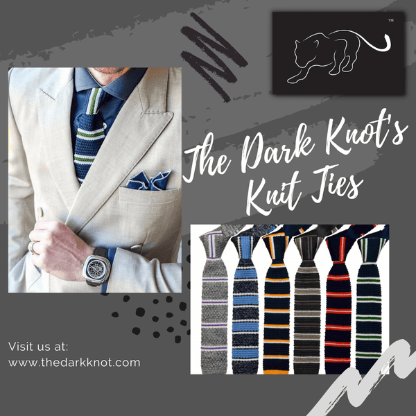 Knit Ties from The Dark Knot
