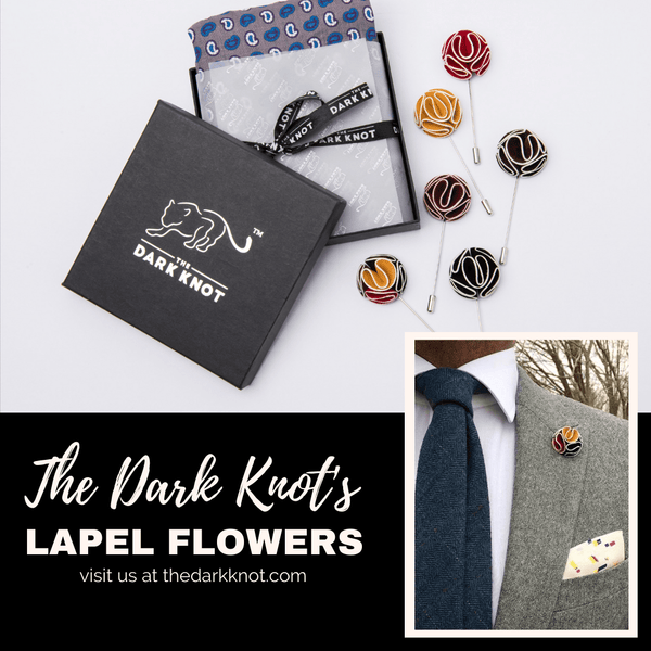 Lapel Flowers from The Dark Knot