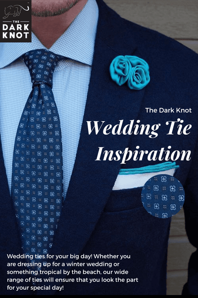 Wedding Ties from The Dark Knot